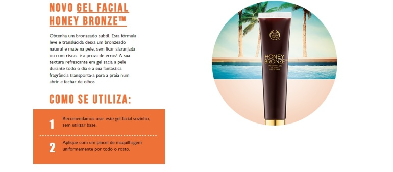 honey bronze como usar