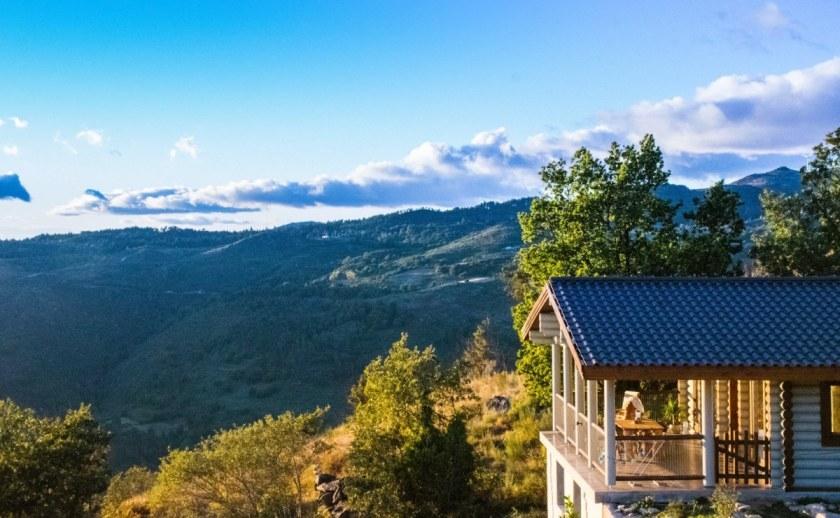 Mountain lodge Bungalows Portugal Quinta Rural 1200